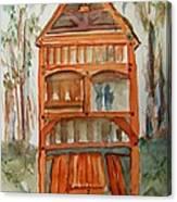 Backyard Play Hut Canvas Print