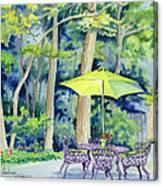 Backyard Retreat Canvas Print
