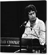 Bad Company 1977 Canvas Print