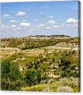 Badlands 21 Canvas Print