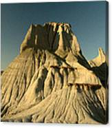 Badlands Hoodoo Canvas Print