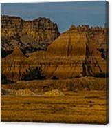 Badlands In Color Canvas Print