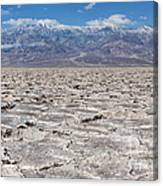 Badwater Basin - Death Valley Canvas Print