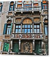 Baffo Balcony Canvas Print