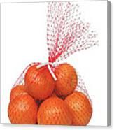 Bag Of Oranges Canvas Print