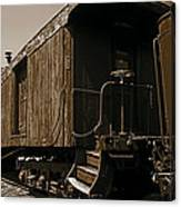 Baggage Car Canvas Print