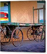 Baggage Cart Canvas Print