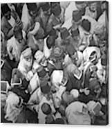 Baghdad Crowd Canvas Print