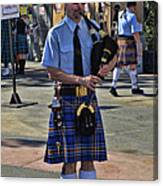Bagpipes Canvas Print