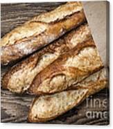 Baguettes Bread Canvas Print