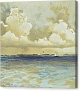 Bahama Island Light Canvas Print