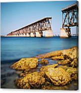 Bahia Honda State Park Florida Canvas Print