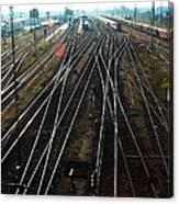 Bahnhof Cottbus Canvas Print