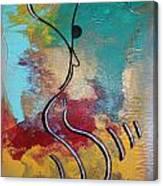 Bailando 2 Canvas Print