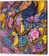 Baile En Las Flores  Canvas Print