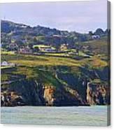Baily Lighthouse Panorama 1 Canvas Print