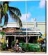 Bait And Tackle Key West Canvas Print