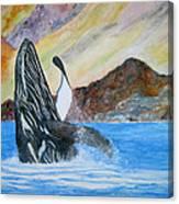 Baja Breach Canvas Print