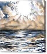 Bajan Sundays Canvas Print