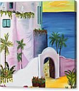 Bajas Edge Canvas Print
