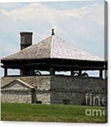 Bake House At Old Fort Niagara Canvas Print