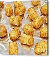 Baked Potato Treats Canvas Print