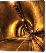 Baker Barry Tunnel Canvas Print