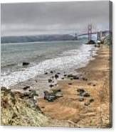 Baker Beach View Canvas Print