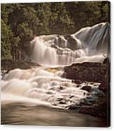 Bakers Brook Falls Canvas Print