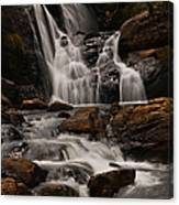 Bakers Fall. Horton Plains National Park. Sri Lanka Canvas Print