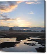 Bakersfield Sunrise Canvas Print