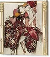 Bakst, L�on 1866-1924. La P�ri. 1911 Canvas Print