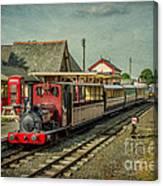 Bala Lake Railway Canvas Print