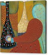 Balalaika Angel Canvas Print