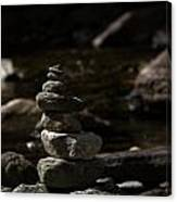Balance In Nature Canvas Print