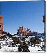 Balanced Rock Arches National Park Utah Canvas Print