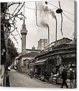 Balat Neighborhood In Istanbul Canvas Print
