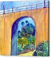 Balboa 163 Bridge Canvas Print