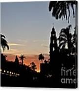 Balboa At Sunset  Canvas Print