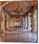 Balboa Park Arches Canvas Print