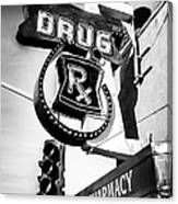 Balboa Pharmacy Drug Store Orange County Photo Canvas Print