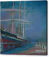 Balclutha In The Mist Canvas Print