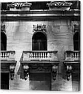 Balconies At Nyse  Canvas Print
