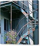 Balcony 1 Canvas Print