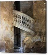 Balcony At Les Invalides Paris Canvas Print