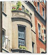 Balcony Scene Canvas Print