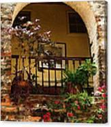Balcony St Lucia Canvas Print