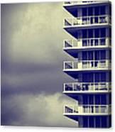 Balcony Study Canvas Print