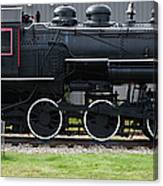 Baldwin 0-6-0 Steam Locomotive - Gorham New Hampshire Canvas Print