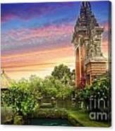 Bali 2 Canvas Print